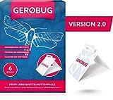 Gerobug Lebensmittelmotten-Falle 6 Stück + Bonus E-Book
