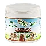 100ProBio Kokosöl für Tiere -EIN natürlich wirksamer Schutz gegen Zecken, Milben, Parasiten & Fellpflege ohne Chemie (500ml PE-Becher)