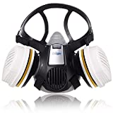 Dräger X-plore 3300 Maler Halbmasken-Set inkl. A2 P3 Kombi-Filter | Größen S/M/L | gegen Gase, Dämpfe, Fein-Staub und Partikel | Größe M